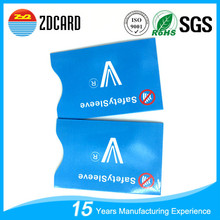 Info protector rfid bank card holder for wholesale
