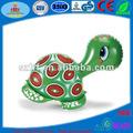pvc inflable de juguete tortuga