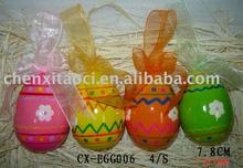 fashion ceramic egg for easter gift