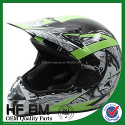 Helmet with Bluetooth Motorcycle , Custom Motorcycle Helmet with Decals