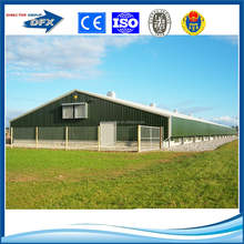 Prefabricated construction types of poultry house