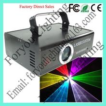 Useful best selling 2w rgb animation laser stage light