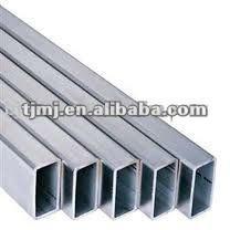 galvanizado en caliente rectangular tubos para la