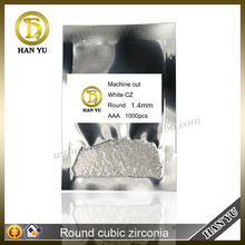 Factory derict selling round brilliant cut synthetic cubic zirconia wholesale