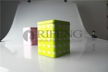 square metal tin box(100*100*100 Hmm)