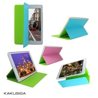 2015 Popular New Arrival Double Color Leather Cover for ipad 1/2/3/4