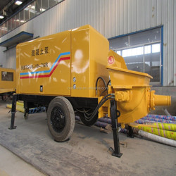 stationary pumping concrete equipment with advanced configuration and reasonable price China supplier