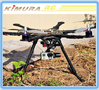 HMF S550 FPV Hexacopter/6-axle Rack Frame Kit W/ PCB Central Plate Quadcopter (DJI F550 Upgraded Version)