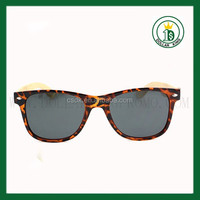 2015 newest manufacturer bamboo polarized rose colored sunglasses for man and woman