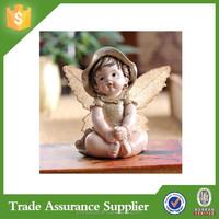 Top Handmade Resin Children Garden Statues Design