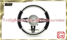 High quality zinc alloy steering wheel design table clock