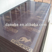 AAA grade WBP phenolic glue brown film faced plywood for concrete