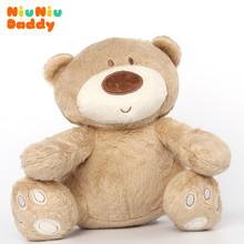 Niuniudaddy Plush bear baby sleep toy 25cm