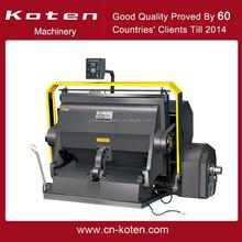 Die Cutting and Creasing Machine for paper ,cardboard,corrugated/Die cutting machine/creasing cutting machine ML-1800 T Europe
