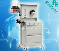 50-1600ml Ventilation Volume Portable Anesthesia Machine Equipment for Medical Gases