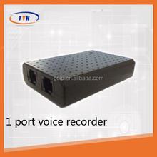 telephone recording box 1 port voice recorder