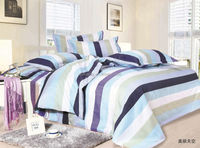 simple style pigment printing home textile bed set/bed linen/bedding sheet