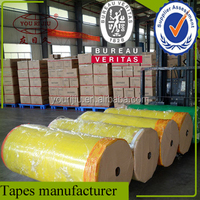 Yellowish micron bopp film for printing tape