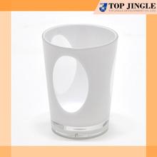 New Product Cheap Plain Transparent White Tumblers
