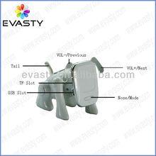 Portable mini animal speaker with TF USB