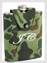 Hip flask factory supply novel design portable 8 oz hip flask