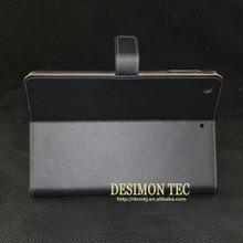 Retro vintage PU leather flip case stand smart cover case for ipad mini 2