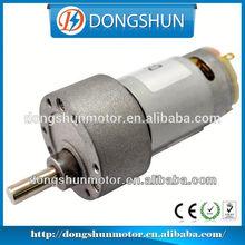 DS-37RS395 mini reversible dc gear motor 12v 5w 15rpm