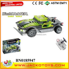 Radio Control Car Building Block RC Racer Model