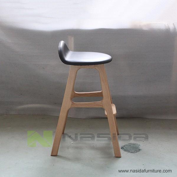 Ch267 solide en bois erik bar tabouret en salle manger for Etagere bois epaisse