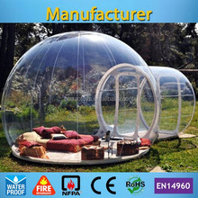 transparent outdoor inflatable bubble camping tent