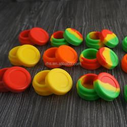 New design silicone oil box /silicone wax box with round shape