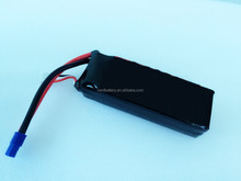 High discharge rate 30C 11.1V 3700mAh li-po RC helicopter/car/boat battery pack.