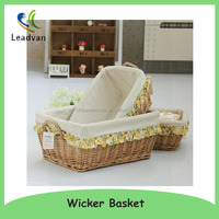Handmade Large Moses Bassinet Baby Wicker Basket