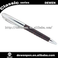 Supply popular animal ball pens with leather
