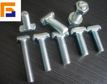 stainless steel t-bolt,nut and bolt