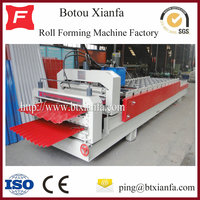 Low Cost Glazed Tile and Trapezoidal Roofing Roll Forming Machine