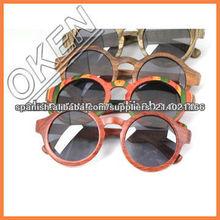 de bambú personalizado gafas de sol gafas de madera mayoristasinforme