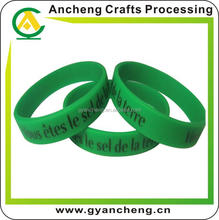 Hot selling ncaa silicone bracelets for fashion accessory