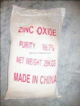 Mejores precios óxido de zinc precios 99.9 99.7 ventas calientes