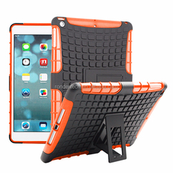 Plastic Stand case for iPad air 2 shock proof cover for iPad 6 case