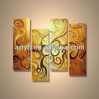 Popular modern handpainted abstract painting reproduction image