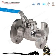 most popular flange connection floating ball valve Q41F