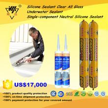 Silicone Sealant Clear All Glass/Underwater Sealant/Single-component Neutral Silicone Sealant