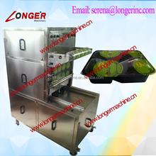 small tray sealing machine|lunch box sealer machine