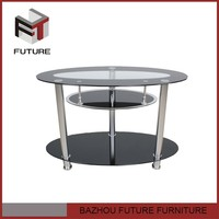 China new model metal leg corner lcd glass tv stand for sale