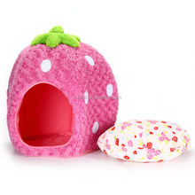 2015 Good quality sell well Strawberry pet bed dog bed IPET-PB18