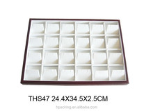 jewelry display tray leather ,leather tray display,custom leather tray display
