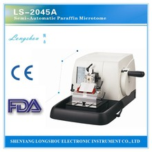 LS-2045A semi-automatic microtome munual microtome chemistry analysis tissue processor