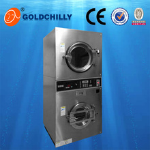 Best quality hot sale 8/10/12kg carpet stack washing drying machine