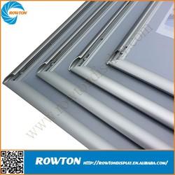 Metal clip frame adjustable a1 aluminum poster frame